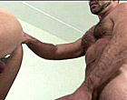 Two older hairy gay men know how to fuck doggie