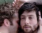 Two well horny gay lovers in a romantic story