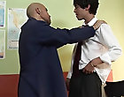 As soon as it reached reant hardness, the teacher demanded it straight in his hot wet ass gay premature ejaculation