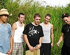 Quickly each one of them grabbed a beer out of the cooler, and Michael let out that he had to pee free gay group sex