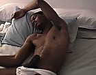 You tease to see the cumshot to feel it, but half of it doesn't even settle on on his body; it shoots way past him
