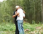 Perspicacious forest caitiff public schoolmate and old man sex gay watersports outdoors