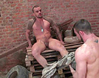 two muscle gay soldiers assfucking all the way