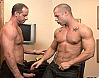 Muscle Rod getting screwed by hunky his banker